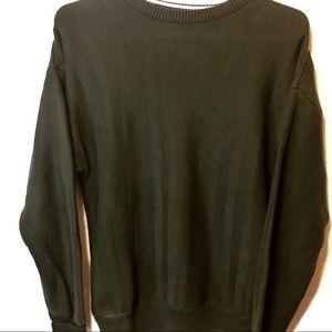 Roundtree & Yorke Mens Large Knit Crewneck Sweater